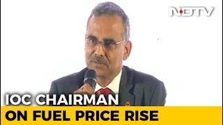Indian Oil Chief Explains Oil Price Freeze Ahead Of Karnataka Elections - NDTV