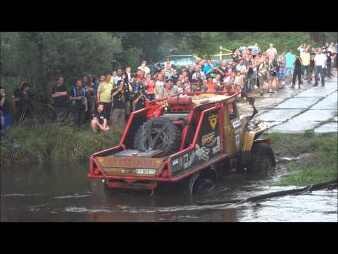 Dresden - Breslau Rally 2012 (crossing the river)