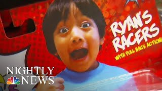 Exclusive Interview With Kid Millionaire Behind Ryan's World Toy Empire   NBC Nightly News - NBCNEWS