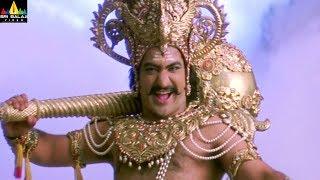 Jr NTR vs Mohan Babu Dialogue War | Yamadonga Movie Scenes | SS Rajamouli | Sri Balaji Video - SRIBALAJIMOVIES