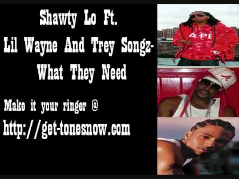 Shawty Lo ft. Lil Wayne & Trey Songz What They Need Video