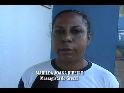 MARILDA , MASSAGISTA DE FUTEBOL DO GRECAL
