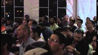 """فيديو  حفلة """"حسيدية"""" فوق جبل الزيتون لإحياء ذكرى الحاخام """"كوك"""""""