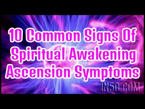 Top 10 Spiritual Awakening Symptoms   in5d.com