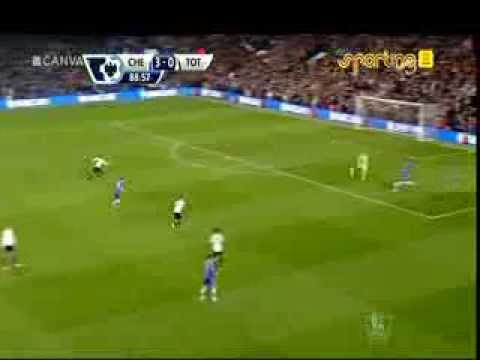 2 goals from chelsea player demba ba vs tottenham hotspur 2014