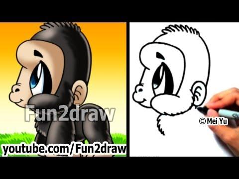 Nasıl Çizilir: Goril
