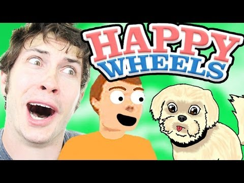 TIMMY TALKS TO MY DOG!! - Happy Wheels