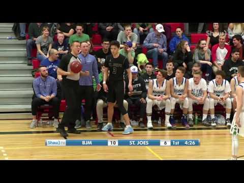 City Premiere League Basketball - Boys Final