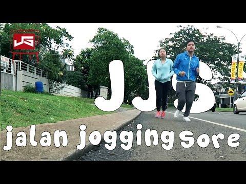 JJS!! Jalan Jogging Sore (stresss berat badan naik)