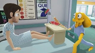 watch the youtube video Octodad - Dadliest Catch DLC Shorts - OctoNurse [3]