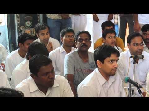 Rudram Chanting in Goddess Gangamma Temple, Bovi Palya