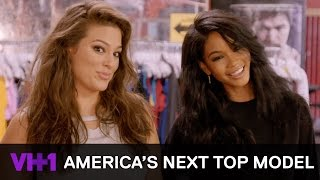 Chanel Iman Models w/ the Contestants At A Boxing Photoshoot | America's Next Top Model - VH1