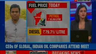 PM Modi chairs #OilSummit: PM Narendra Modi meet with global CEOs on fuel price - NEWSXLIVE