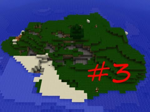 Minecraft Survival Island Custom Map Part 3: Spider Revenge