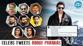 Celebrities Tweets On #PrabhasBirthday | #HappyBithdayPrabhas | #HappyBirthdayDarling - IDREAMMOVIES