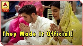 Priyanka Chopra and Nick Jonas to make the engagement official in Mumbai - ABPNEWSTV