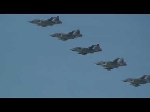 Aviones y Helicopteros de guerra Rusos Moscu 1)