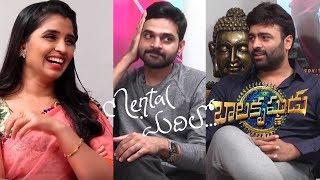 మెంటల్ మదిలో బాలకృష్ణుడు || Nara Rohit & Sree Vishnu interview about Balakrishnudu & Mental Madhilo - IGTELUGU