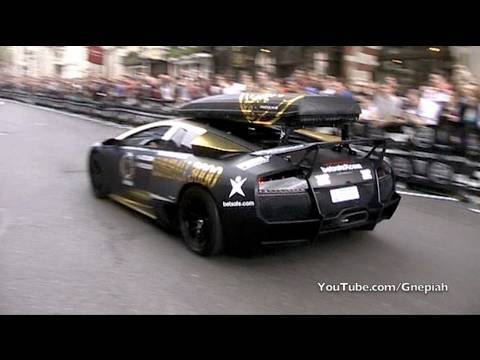 The start of the 2010 Gumball 3000 Rally! - Pall Mall, London