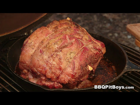BarbecueWeb - Beef Rib Roast by the BBQ Pit Boys - Make it a holiday feast with this easy to do Beef Rib Roast recipe cooked up on the grill. With these simple BBQ Pit Boys tips your Roast Beef will come out moist and tender every time.