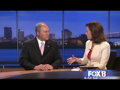 Scalise on Fox 8 Nola on House passage of a major flood insurance reform