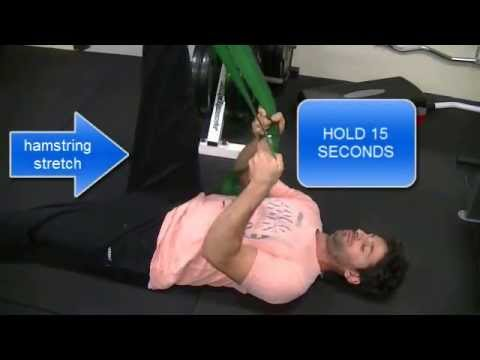 Roselands Chiropractor Stretching Routine: Lower Body. One Stop Health Care