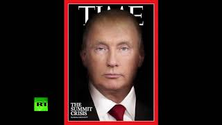 Trutin? TIME magazine morphs leaders' faces into one - RUSSIATODAY