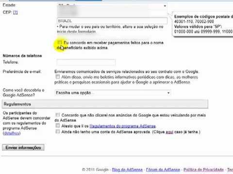 Tutorial Google Adsense Parte 2 - Como Criar Uma Conta no Google Adsense