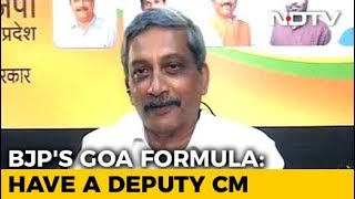 Amid Goa Political Crisis, BJP May Appoint Deputy Chief Minister: Sources - NDTV