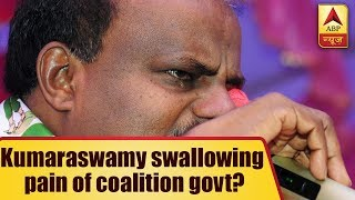 Kaun Jitega 2019: I am swallowing pain of coalition govt, says Kumaraswamy - ABPNEWSTV