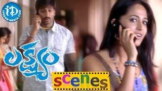 Lakshyam Movie Scenes || Brahmanandam, Anushka Plan to attack Gopichand - IDREAMMOVIES