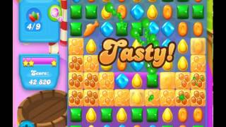 guide, tips, and cheats from Candy Crush Soda Saga Level 125 in video