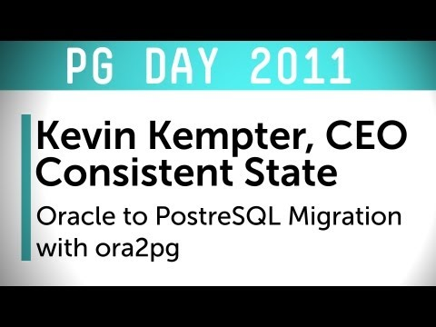 Oracle to PostgreSQL Migration with ora2pg