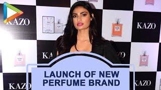 UNCUT: Athiya Shetty Launches New Perfume Brand 'Kazo' - HUNGAMA