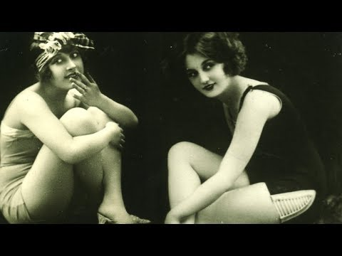Shocking 1920's Vintage Erotica Pt2 - 100s of Roaring 20's Fashion and Flappers