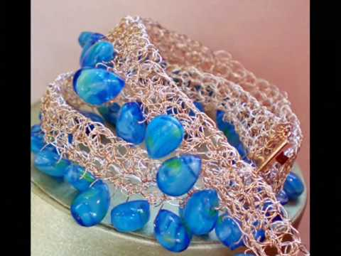 Wire Crochet Jewelry From Zeba Collection