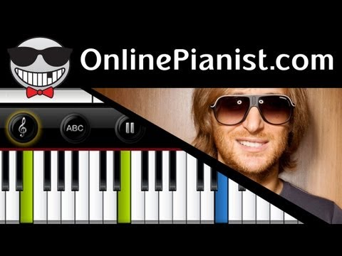 David Guetta ft. Sia - Titanium - Piano Tutorial