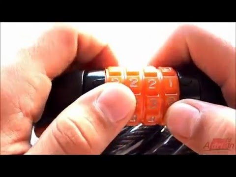Cadeado Maxtrava Segredo Espiral Aço 12mmx1.5mt