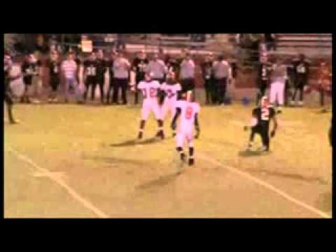 Clinch Co. Football Rashad Grant WR/DB #7 Jr. Highlights 2010 (Class of 2012)