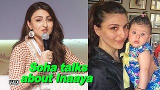 Soha Ali Khan on lessons learnt from daughter Inaaya - IANSLIVE