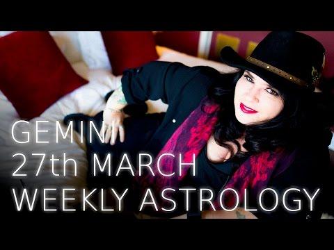Gemini Weekly Astrology Forecast 27th March 2017