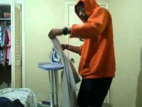 How Gangsters Iron. ( Original Video )