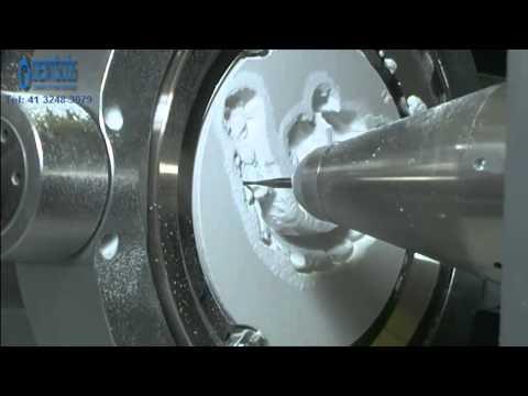 Prótese em Zircônia - sistema CAD/CAM - Dent'Scos