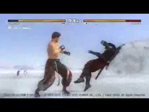 DOA5U JANN LEE vs HAYATE