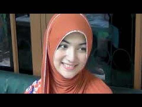 Video Model hijab segi tiga Ala Citra Kirana ciput