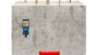 Bosch d tect 150 wallscanner detector demonstration for Bosch scanner mural d tect 150 professional