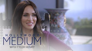 Megan Fox Receives an Inspiring Message From Tyler Henry | Hollywood Medium with Tyler Henry | E! - EENTERTAINMENT