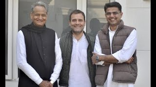 It's official now: Ashok Gehlot will be Rajasthan's next Chief Minister, Sachin Pilot his deputy - ZEENEWS