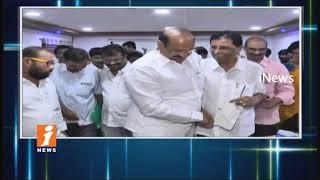 Minister Kamineni Srinivas Visits NIMS Hospital In Ongole | iNews - INEWS