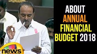 Etela Rajender Speaks About Annual Financial Budget 2018 | Mango News - MANGONEWS